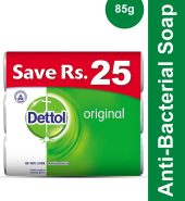 Dettol Orignal Antibacterial Soap (Trio Pack 3 in …