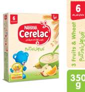 Nestle Cerelac 3 Fruits & Wheat