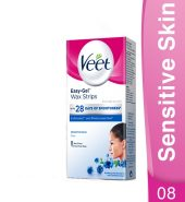 Veet Easy-Gel Wax Strips Sensitive Skin