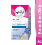 Veet Silky Fresh Hair Removal Lotion For Sensitive…