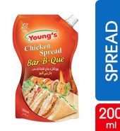 Young s Bar-B-Que Chicken Spread Pouch